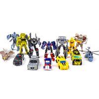 Livraison gratuite! 7 PCS: les jouets de voiture robot A ++