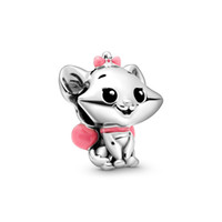 Authentic ALE 925 Sterling Silver The Aristocats Marie Charm...