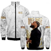 In Memery Of Nipsey Hussle Designer Jacket Coats Black Fashi...