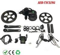 Livraison gratuite moteur Bafang vitesse BBS01B 36V 350W vélo électrique kits de conversion moyen d'entraînement du moteur 8FUN avec C965 écran LCD