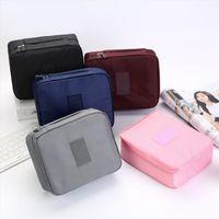 Modycon Zipper Homem Mulheres Makeup Bag Nylon Saco Cosmético Beleza Caso Compõe Organizador Bolsa de Negócios Bag Kits Bolsa de Lavagem de Viagem