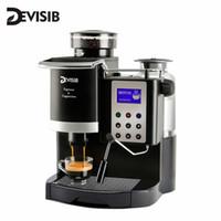Cafeteira Devisib Máquina de máquinas profissionais com moedor automático americano China Cafeta Espresso Cozinha Eletrodomésticos