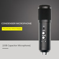 Mikrofonlar USB Mikrofon PC Kondenser Vokaller YouTube Video Skype Sohbet Oyunu Podcast