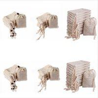 Jabón para hacer bolsas de burbujas Espuma Fácil burbuja bolsa de malla de baño de espuma Fabricante de almacenamiento Limpieza titular de baño WC Suministros DDA391