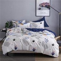 3pcs Cotton Bedding Sets 2021 Hot Sale Duvet Cover Bed Suits Quilt Cover Pillowcases King Size Luxury Bedding Supplies