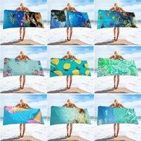 الشاطئ منشفة المحيط مطبوعة ستوكات الشاطئ البطانيات الشرابة سباحة سميكة نزهة سجاد يوجا ماتس رسالة البيسبول 9 تصاميم WY809Q