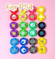 Caches Pour Xbox360 Xbox One PS3 Controller PS4 Multicolor Analog Controller Silicone POUSSOIR Poignées Casquettes Couvertures