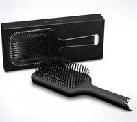 Neue Ankunfts-heiße Bürsten-Fachmann Paddle Comb Hot Bürste für Haar-Styling Ceramic Haarglätter-Bürste