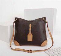 M45355 Odeon Lady Purses Sacs à bandoulière L Motif de fleurs Handbags Hookbags Fashion Totes de mode 2020 NOUVEAU Style Dames Sac en cuir véritable