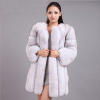 Женский меховой Faux Savabien роскошные пальто женщины плюс размер зима густая теплая элегантная верхняя одежда 2021 мода черная пушистая поддельная куртка розовый