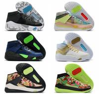 2020 أحذية KD 13 EYBL رجل إمرأة كرة السلة ولدت فونك الرئيسية فريق الدعاية الكوكب من الأطواق المدربين مصمم الرياضة احذية Eur36-46