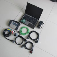 MB 별 C4는 소형 Mercede 자동차 / 트럭 스타 진단 도구 4 D630 노트북을위한 2020.06v 하드 디스크 vediam0 / DTS로 연결 SD