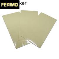 Wasser-Beweis-Kunststoff Transparent PVC-Partei-Geschenk-Paket-Aufkleber Selbstklebende Rectangle-Pack Label für DIY Geschenk Sealing