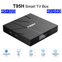 T95H Android 10.0 TV Box 4GB 64GB Allwinner H616 Quad Core HD 6K 4G64 intelligente TVBox 2.4G Wireless LAN 3D Media Player Set-Top-Box 4 GB 32 GB