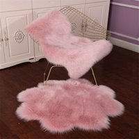 New Carpets Floor Mat Pad Skin Fur Rugs Soft Faux Sheepskin Carpet Rugs For Home Living Room Bedroom Floor Mats Faux Fur Carpet