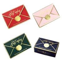20pcs / Paquet Enveloppe Forme bonbons Coffrets cadeaux Creative Décor doux Boîtes d'emballage Candies de mariage d'emballage boîte-cadeau