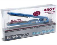 Disponibile!! Baby Pro 450F 1 1/4 Plate Titanio Capelli per capelli raddrizzatura di raddrizzatura Irons Flat Iron Hair Bigodel US / EU / UK / AU Plugs