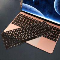 Impermeabile della pelle della copertura della tastiera antipolvere in silicone protettiva per MacBook Air 13 pollici 2019 2018 A1932 uscita con Retina Display touch ID
