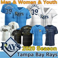 Tampa Bay Willy Astames Jersey Austin Meadows Yandy Diaz Kevin 39 Kiermaier Brandon Lowe Joey Wendle Ji-Man Choi 2020 Temporada Jerseys