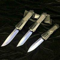 A163 3300 padrão Pena azul dupla ação auto-defesa tático dobrar dom faca automática facas automáticas auto faca xmas