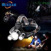 Велосипедные огни T6 LED велосипед / велосипед свет 18650 аккумуляторная фара / фара для водонепроницаемого велосипедной фары / фар Headtorch