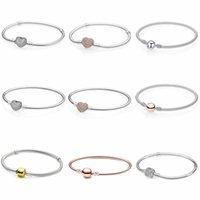 La alta calidad de la adaptación de cadena de la serpiente pandora pulsera de 3 mm de perlas de joyería encantos berloque originales para regalos mujeres