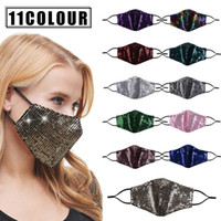 Mascaras de moda de la moda Desgner Mascarilla de la cara PM2.5 Masas de la boca a prueba de polvo RESPIRADOR DE LAS MUJERES REUSABLE