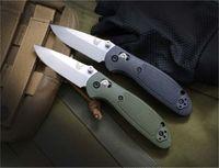 Benchmade BM Mini 556/555 Mini couteau AXIS 154CM Lame poignée en nylon extérieur Camping Couteau BM940 BM810 BM555-1 couteau BM42