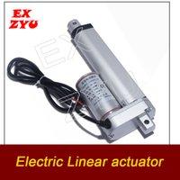 EXZYU Электрический Линейный привод 50 мм Storke 100 мм Ход 200 мм Ход линейного контроллера двигателя постоянного тока 12V 200N камеры комнате