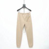 Sis Tanrı Korkusu Essentials Pantolon 3 M Yansıtıcı Mektup Nakış Parça Pantolon Moda Sokak Erkekler Pantolon Spor Sweatpants Hfymkz