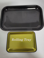 DIY Rolling Tray Metal Cigarette Smoking Rolling Tray Herb T...
