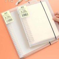 A5 B5 espiral de la bobina desmontable libro en blanco cuaderno rayado DOT papel cuadriculado Diario Diario Sketchbook Para la Escuela Estacionario