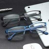 Sonnenbrille TR90 Business-Rezept Lesebrille Frauen Männer Mode Frühlingsbeine Hyperopia Presbyopische Brillen für Leser 1 1.5 2 2.5