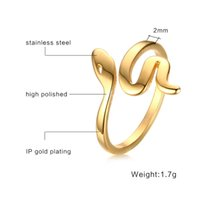 RUIYI most popular new arrival fine ring have gold three colors snake choose free shipping hot sell product