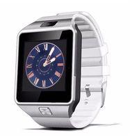 DZ09 블루투스 스마트 시계 전화 + 카메라 SIM 카드 야외 스포츠 팔찌 패션 시계 (안드로이드 iOS 전화 용)