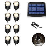 Солнечная энергия Подводные Проекционные лампы Крест Оптический амфибия Fish Tank для Spotlight дайвинга солнечной лампы (Pack 6)