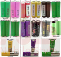 50pcs 18650 литиевых батареи Батарея высоких Дренажный 40A 3500mAh Й КИГ Vapes QSO 510 Автора NCR КМС VTC4 VTC5 VTC6 25R 30Q НЕ2 HE4 HG2 моделирование Паого