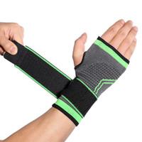 1pcs poignet de soutien professionnel Bandage cheville poignet de soutien Wrap Tennis Basketball Boxe Thai Boxe main chevillère Protector