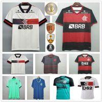 2020 Flamengo Soccer Jerseys Gabriel B. Guerrero Diego B.Henrique de Arrascaeta Gerson Custom 20 21 Flamand RJ Femme Femme Chemise Football Enfants