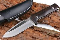 jabalí 4.5inch recta cuchillo cuchillo de hoja fija Busse Herramientas regalo de Navidad para el hombre a1874 ADCU supervivencia que acampa al aire libre del regalo del cuchillo