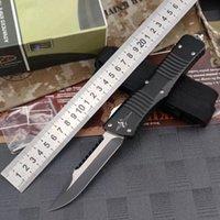 Mict interceptor de doble acción táctica de defensa personal plegable cuchillos de caza del cuchillo que acampan cuchillo EDC navidad a3031 regalo