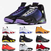 2020 Nike Air Jordan Retro 14 Moda Jumpman XIV 14 Mens tênis de basquete 14s Gym Red Doernbecher Outdoor Retro Trainers Atletismo Sports Sneakers Big Size Eur 47