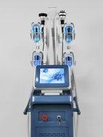Açı çevreleyen cryolipolysis zayıflama makinesi Cryo lipo lazer 40k kavitasyon Vücut RF yüz RF donma kilo kaybı çift çene kaldırma