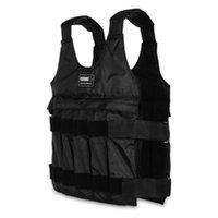 Ağırlıklı Yelek Max Yükleme 20 / 50kg Ayarlanabilir Ağırlıklı Yelek Ağırlık Ceket Egzersiz Fitnes Boks Eğitimi Yelek Görünmez