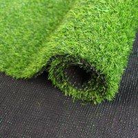 Piso em casa 100 cm * 100 cm grama verde tapete decoração de casamento verde gramados artificiais pequenos tapetes de relvado falso fike lar jardim moss bh0441