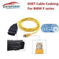New ESYS 3.23.4 Cabo de dados de diagnóstico V50.3 Para ENET Ethernet para OBD ESYS ICOM Codificação Cabo para F-series Ferramenta