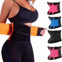 Unisexe résistant à l'usure et durable Sport Ceinture taille formateur Tummy Body Minceur Shaper Cincher Zipper Trimmer Sweat Perfect Body