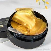 Mascarilla العناية بالعين المضادة للتجاعيد 24K Golden Collagen Life Cella إزالة الحقائب تقليل خط غرامة 100 قطع كثيرا