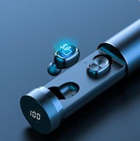 B9 TWS Беспроводные Bluetooth наушники Наушники LED дисплей Наушники Наушники против f9 почки b11 для смарт-телефона Samsung s10 нотой розетки 10 фабричного