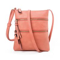 2020 brand fashion luxury women's designer THINKTHENDO Women PU genuine Leather Shoulder Bag Crossbody Handbag Travel Phone Pouch Purse bags